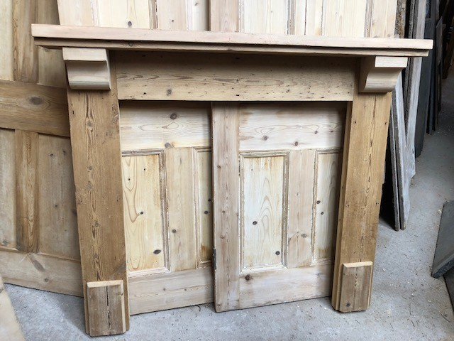 Fire Surround - chunky corbels