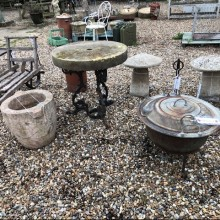 Fire-pit - Victorian boiler repurposed SOLD