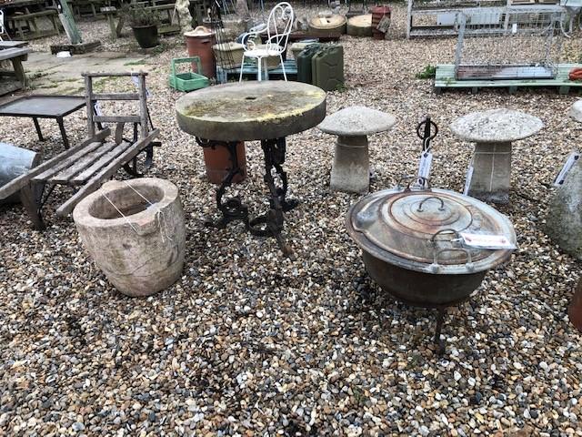 Fire-pit - Victorian boiler repurposed
