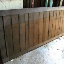 Pine Wall pannelling