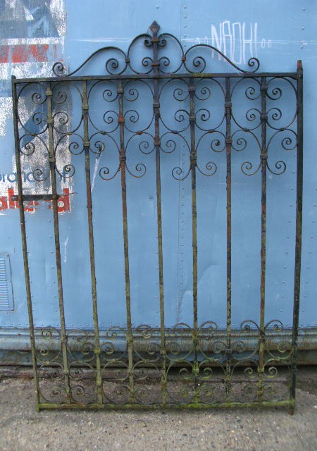 Garden gate - strapwork wrought iron