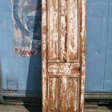 Distressed paint effect reclaimed doors