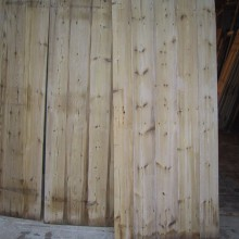 Ledged and Braced plank cottage doors