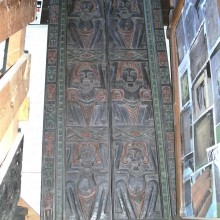 Carved Ethnic doors and frame