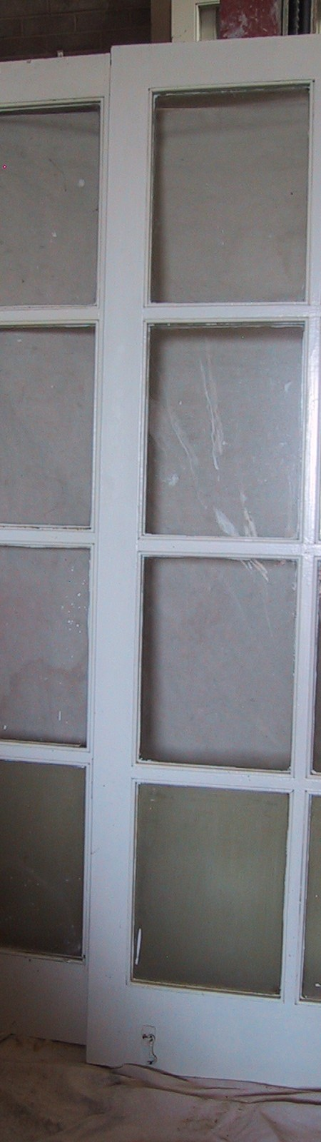 Glazed French pairs of doors