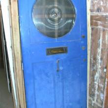 Bullseye Front door