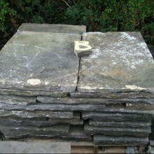 Flagstones - original reclaimed yorkstone.