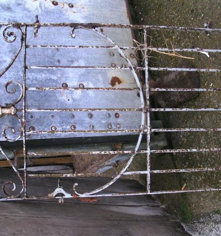 Gate- Period Wrought Iron Gate 25
