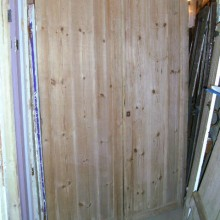 tall pair of double doors 56