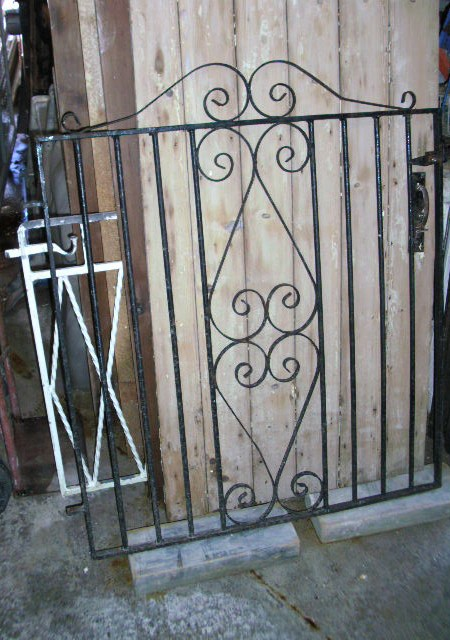 Garden Gate Wrought Iron 42