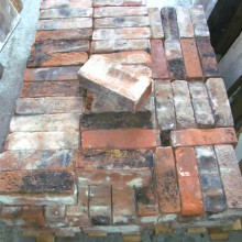 Red Imperial assorted local bricks