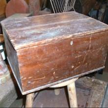 Box - storage box - pine
