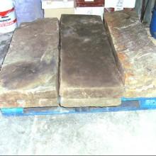 Large Yorkstone and Granite hearth slabs