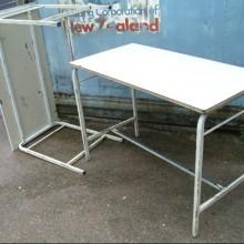 Tables - School vintage metal framed 12 available