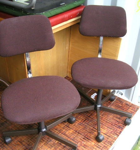 Chairs - Typists vintage chairs
