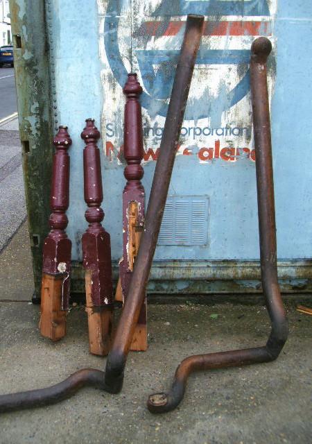 oak handrail - assorted lengths