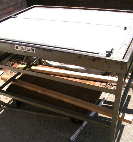 FAG Revisor vintage light table