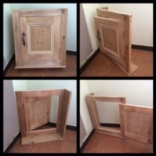 Consumer unit cupboard