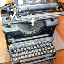Old Remmington Typewriter
