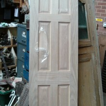 New 6-panel oak door 24