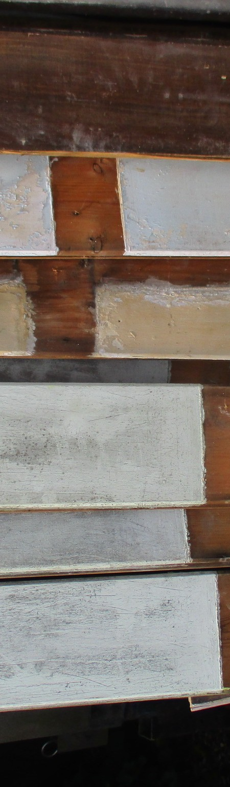 Wall cladding - Vintage painted timber cladding always in stock