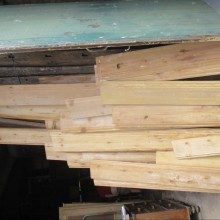 Skirting Board 9inch wide Victorian decorative 103' linear feet available
