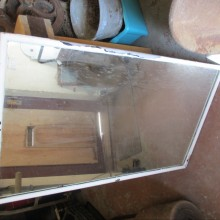 Period painted mirror 2ft x 4ft