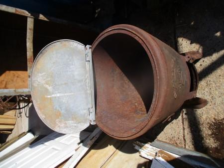 Planter - The Capital Tar Boiler planter cooler