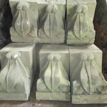 Suffolk White Corbel bricks