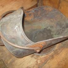 Griffiths & Browett Copper Coal Scuttle