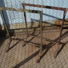 Trestles - Wrought Iron Rustic Trestle bases