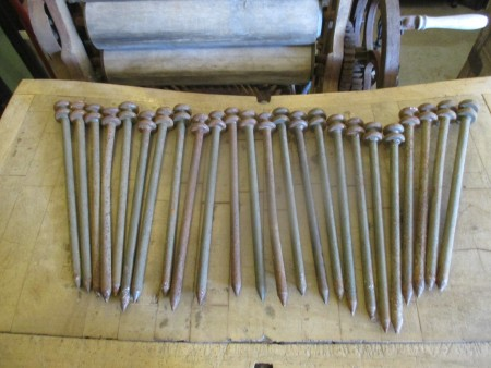 Military grade tent pegs
