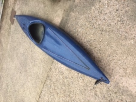 Kayak - Blue Fibreglass Kayak adult size