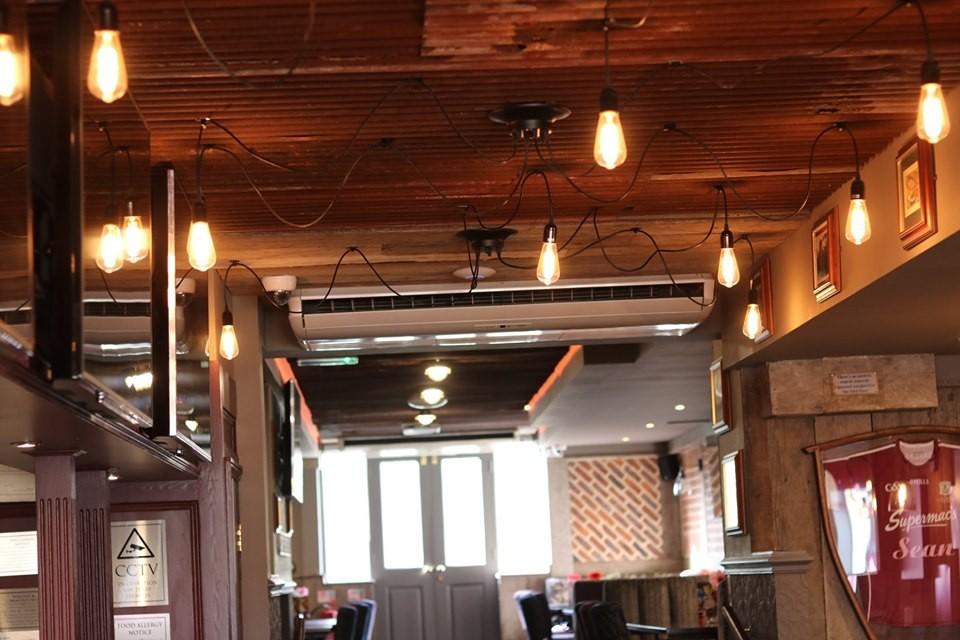 Rustic corrugated tin in bars and refurbs
