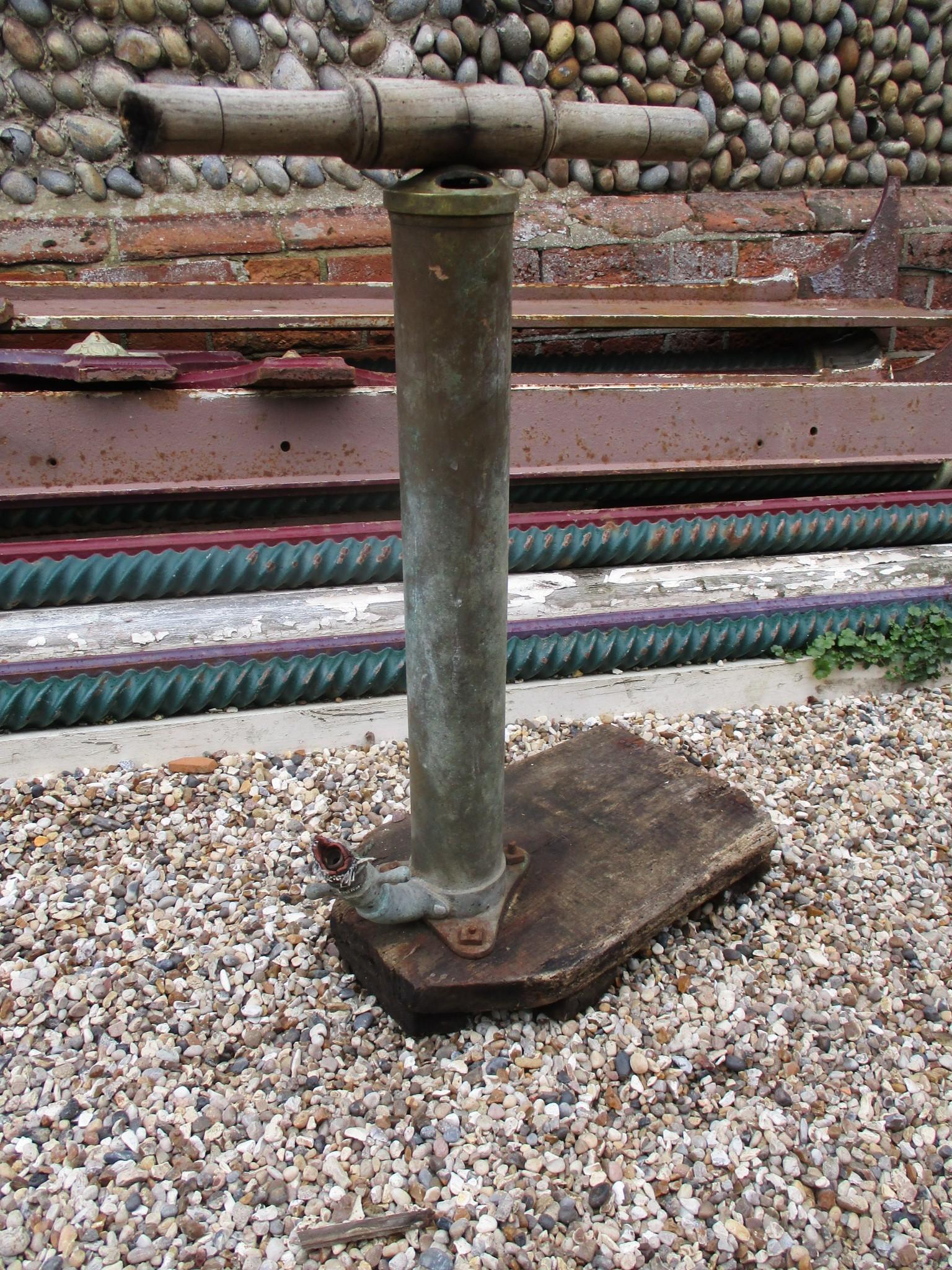 Brass stirrup pump