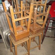 Stools - School stools - beech assorted adult sized