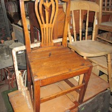 Chairs  - old wooden type - always in stock