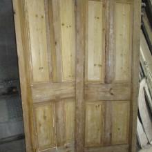 Sets of 4-panel Victorian doors in stock