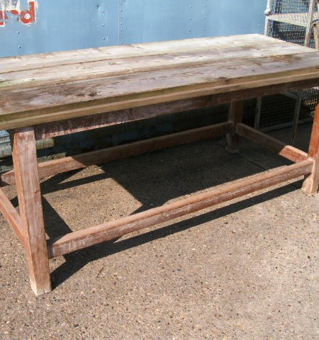 Worktable - to be finished to your requirements