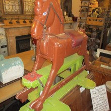 Vintage childrens rocking horse