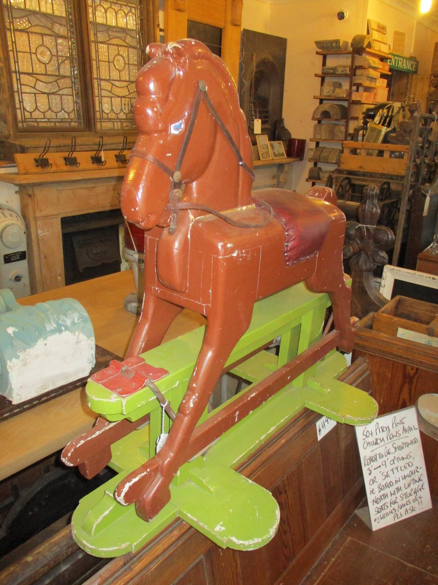 Vintage childrens rocking horse