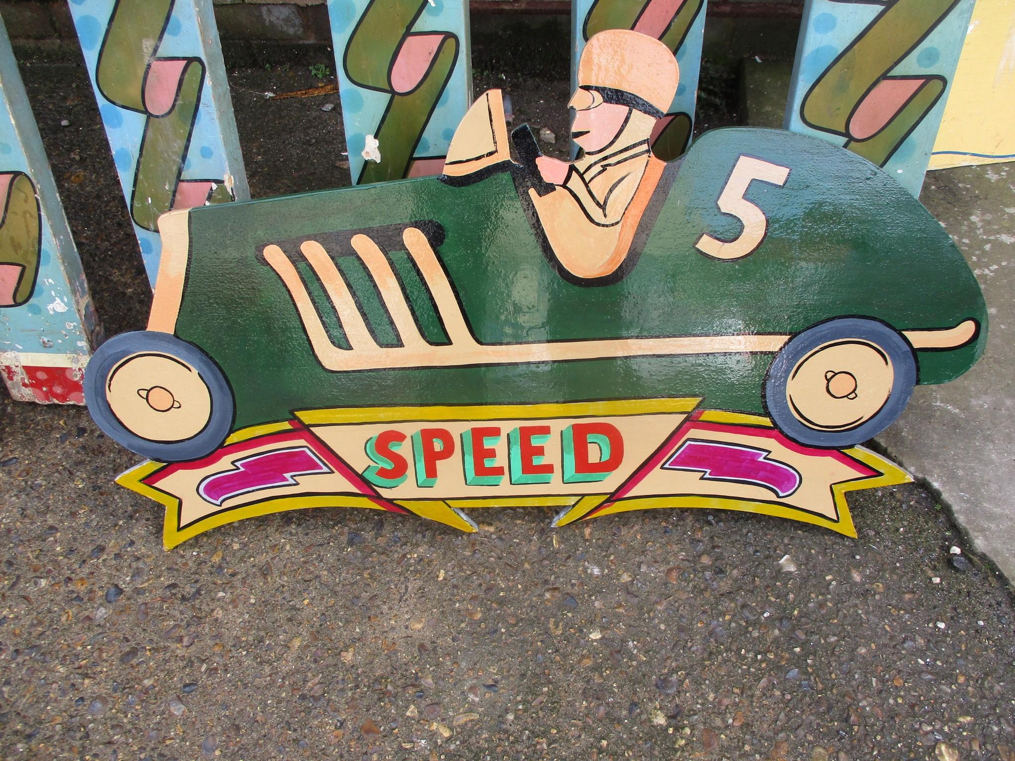 Fairground Ride signage