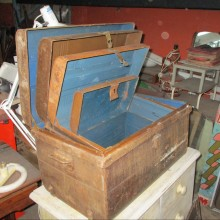 Chests - metal stacking or nestling