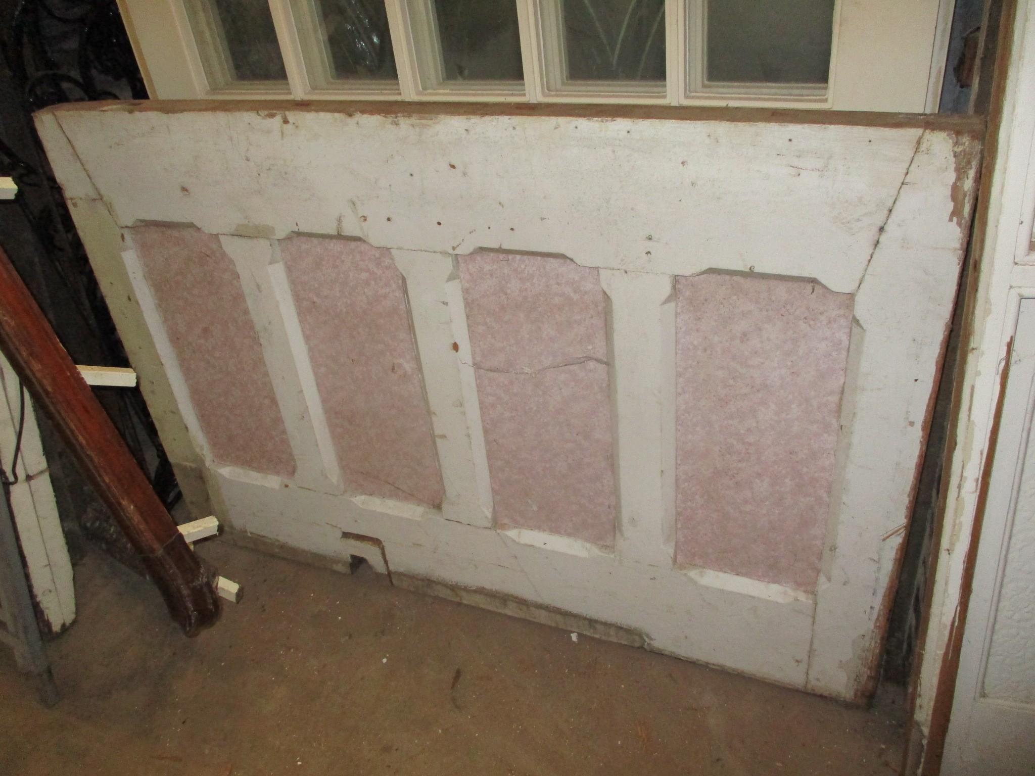 Wall panelling - pitch pine panel