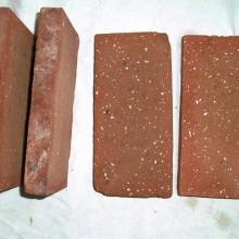 Red cut bricks