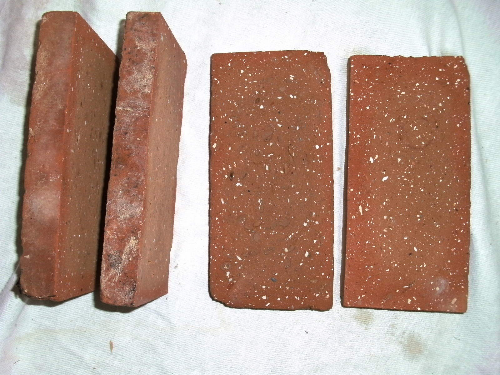 Red cut bricks